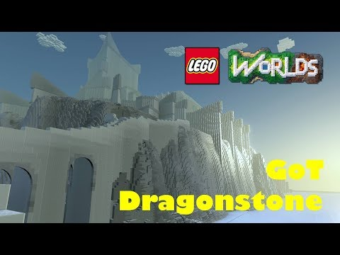 Game of Thrones Dragonstone in Lego Worlds