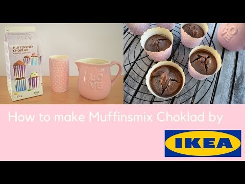 IKEA Muffinsmix Choklad - Chocolate Muffin Mix - How to bake - EASY TUTORIAL  - DIY