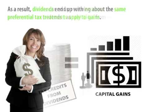Tax Advantages of Dividend Income