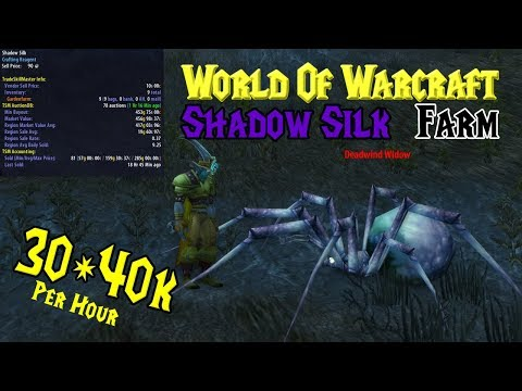World Of Warcraft Gold-Farming 30-40k Per Hour