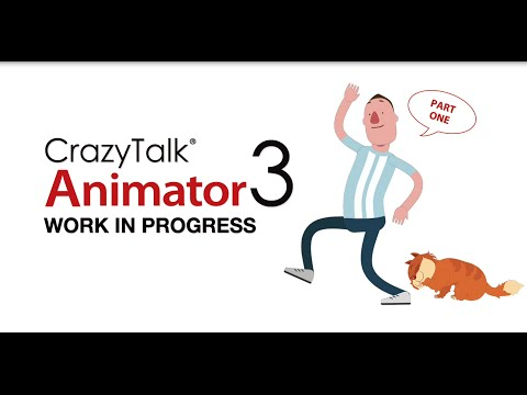 Dynamic 2D Animation Software - CrazyTalk Animator 3 WIP I
