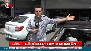 İstanbul Dolu Hasarı Onarımı
