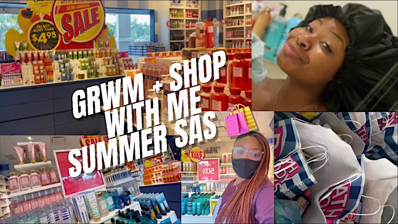 GRWM + SHOP WITH ME   BATH & BODY WORKS SUMMER SEMI-ANNUAL SALE DAY 1 (What To Expect IN STORE)