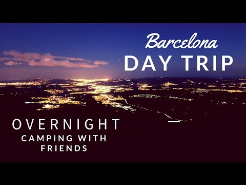 Camping in beautiful Montserrat (Barcelona, Spain) Vlog