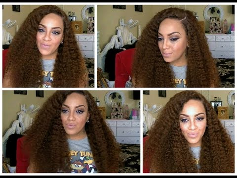 TUTORIAL: HOW I GET MY BIG CURLY WIG TO LAY & LOOK REALISTIC