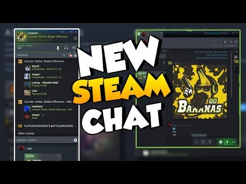 NEW STEAM CHAT (BETA) - Will it replace TeamSpeak/Discord?
