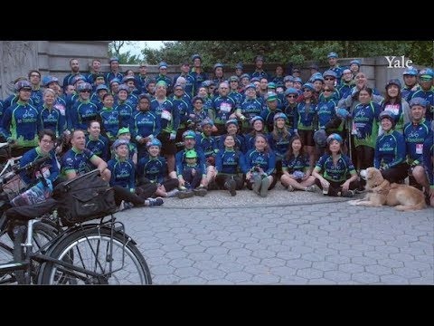 Through InTandem, Yale alumni provide joy of cycling to blind riders