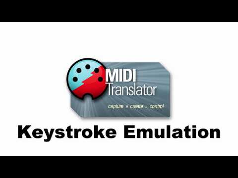 Tutorial: MIDI to Keystroke Emulation using Bome MIDI Translator Pro