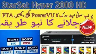 Starsat 90000 Receiver full information And Channel's info