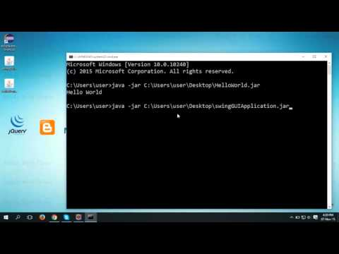 How to Run a jar File from Command Prompt