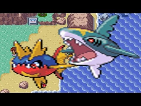 How to find Carvanha & Sharpedo in Pokemon Emerald