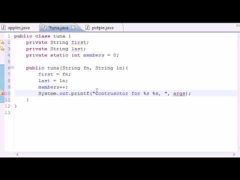 Java Programming Tutorial - 46 - Static