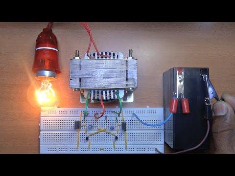How To Make A Inverter 12v to 220v?