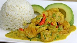 Tasty Coconut Curry Shrimp Recipe Gluten Free Chris De La Rosa