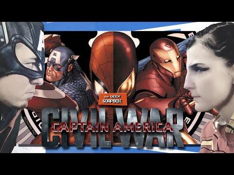 Captain America: Civil War - The Geek Soapbox: Episode 0219