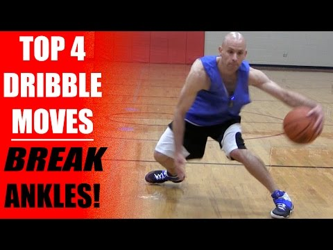 Top 4: Best Basketball Dribbling Moves - Break Ankles!