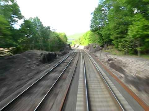 Metro-North Hudson Line, heading to NYC.
