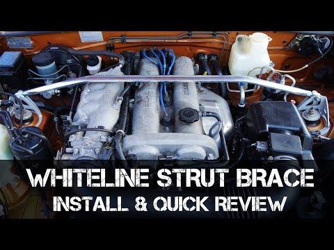 Install & Review - Whiteline Strut Brace