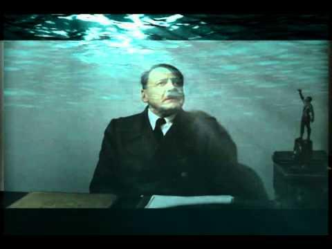 Hitler is in underwater