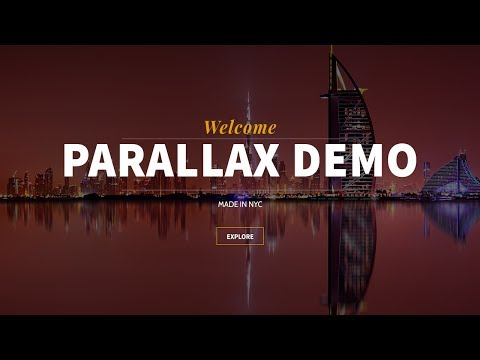HOW TO MAKE A PARALLAX WORDPRESS WEBSITE FOR FREE! - 2018