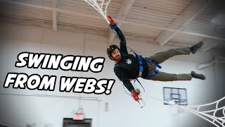 Swinging From Web Shooters!