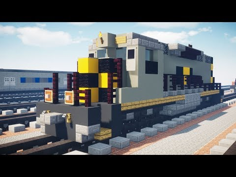 Minecraft Unstoppable AWVR 7375 Gray SD40-2 Tutorial