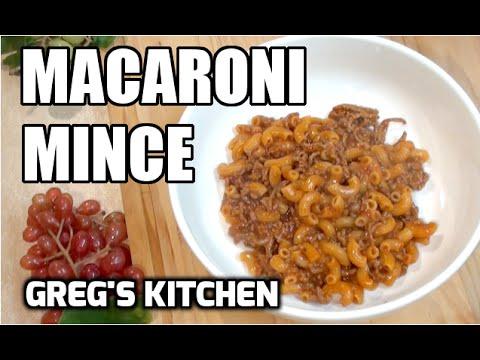 MACARONI MINCE RECIPE 4 Ingredients - Greg's Kitchen