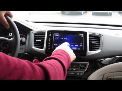 How-To Preset Radio Stations in a Honda