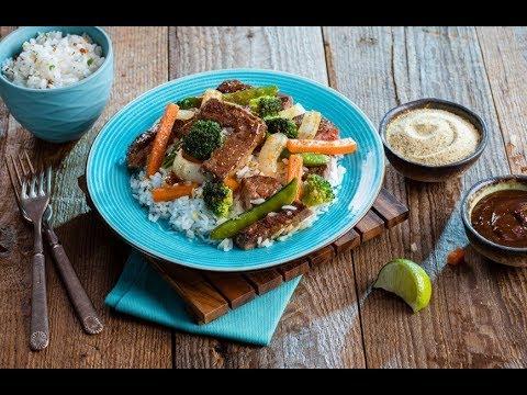 Chefs' Menu Jamaican Jerk Beef Stir Fry   Price Chopper How-To
