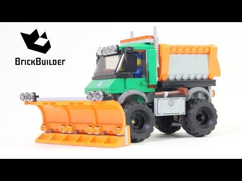 Lego City 60083 Snowplow Truck - Lego Speed Build