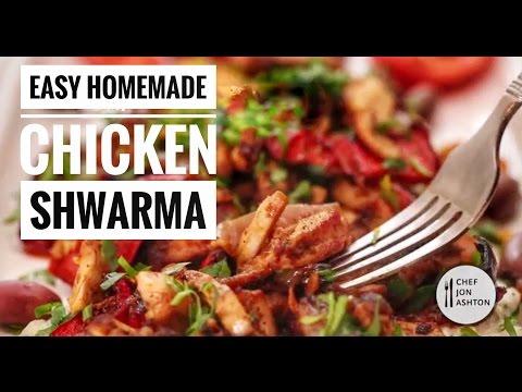 Easy Chicken Shawarma Recipe - How to make Boneless chicken Shawarma at home!
