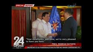 24 Oras: Kinatawan ng North Korea, mainit na tinanggap ni Pres. Duterte sa ASEAN 50th anniversary