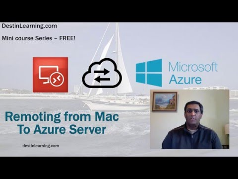 Connecting to Azure Server From Mac