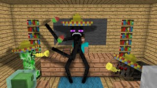 Monster School: Dancing - Minecraft Animation