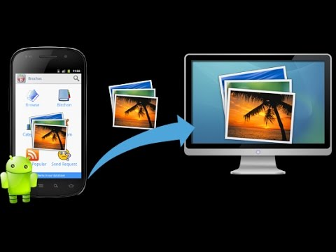 How to move photos & videos from Android Marshmallow tablet or phone to your laptop or pc