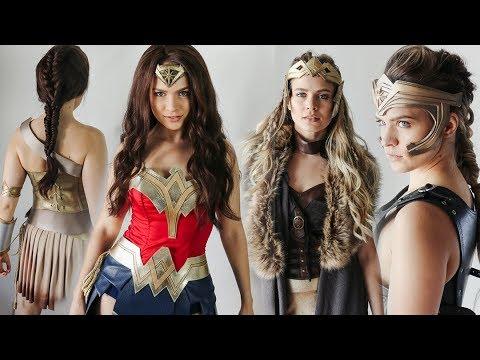 Wonder Woman Hairstyles: Hair Tutorial - KayleyMelissa