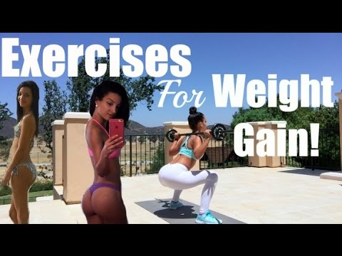 Exercises For Weight Gain!!