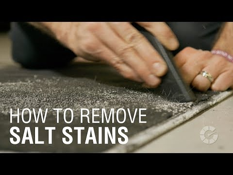How To Remove Salt Stains | Autoblog Details