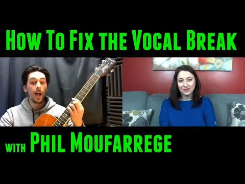 The Male Vocal Break, Sing High Notes Without Strain, Build Reliable Technique with Phil Moufarrege