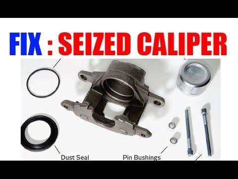 Fix Seized Brake Caliper EASY!