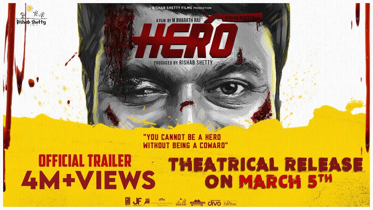 HERO TRAILER |Rishab Shetty|Ganavi Laxman|Pramod Shetty|Manjunath Gowda|Bharath Raj|Ajaneesh Loknath