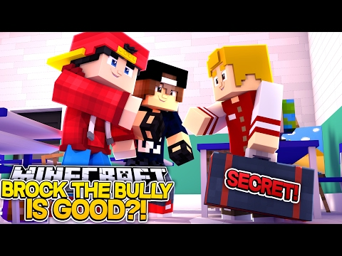Minecraft Adventure - BROCK THE BULLY GIVES UP HARLEY QUINN!