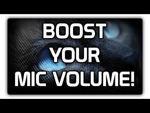 How to make your microphone louder!