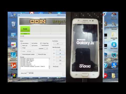 FLASH SAMSUNG GALAXY J5 SM-J500H/DS Marshmallow 6.0.1 lollipop 5.1.1 ODIN MODE