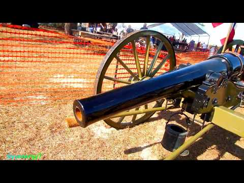 Parrot Rifled Cannon, 'War Between the States' Era