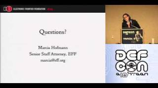 Download DEFCON 18: How To Get Your FBI File 2/3 Video