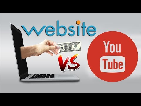 Website vs YouTube Comparison - Which is the best platform to earn money online?