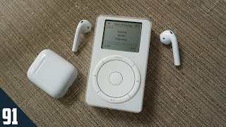 Download Using AirPods with the first iPod Video