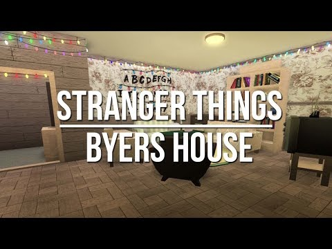 ROBLOX | Welcome to Bloxburg: Stranger Things - Byers House