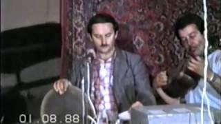 Ağaxan Abdullayev,Ağasəlim Abdullayev,Mirnazim Əsədullayev,Şükür Ağayev- Binə 1988